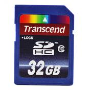 32GB Transcend Class 10 SD SDHC Flash Memory Card